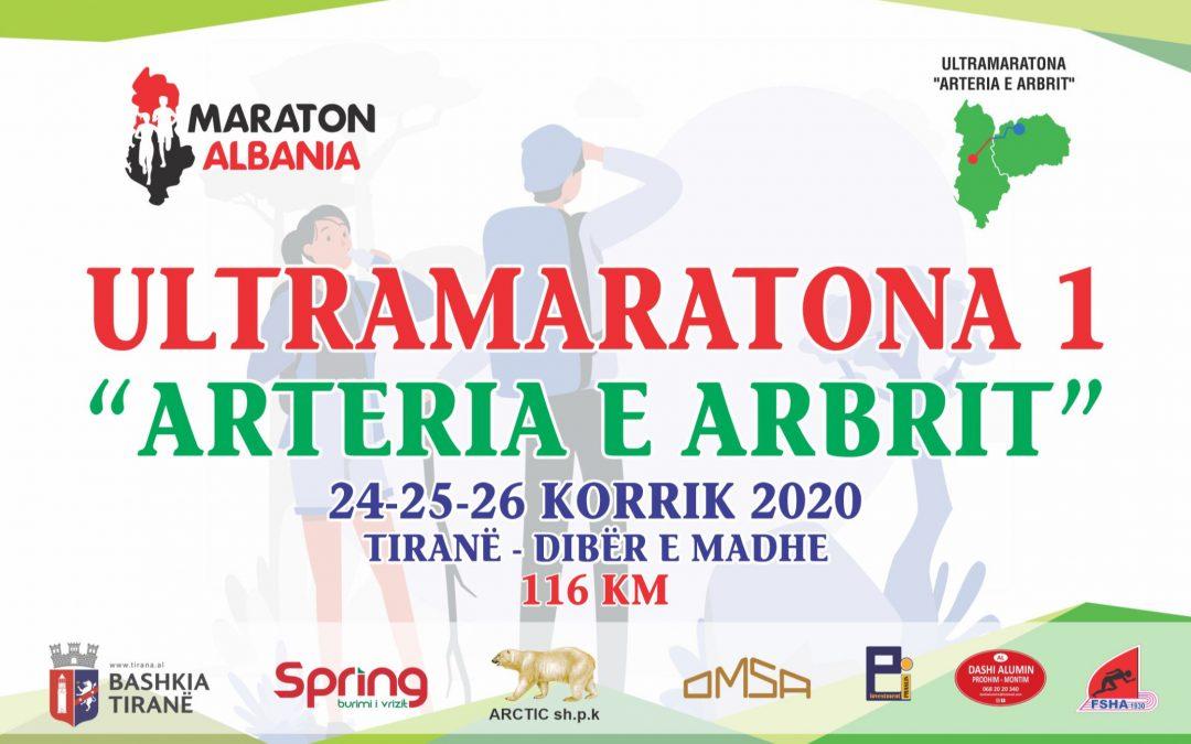 """Regjistrimet për Ultramaratonën """"Arteria e Arbrit"""""""